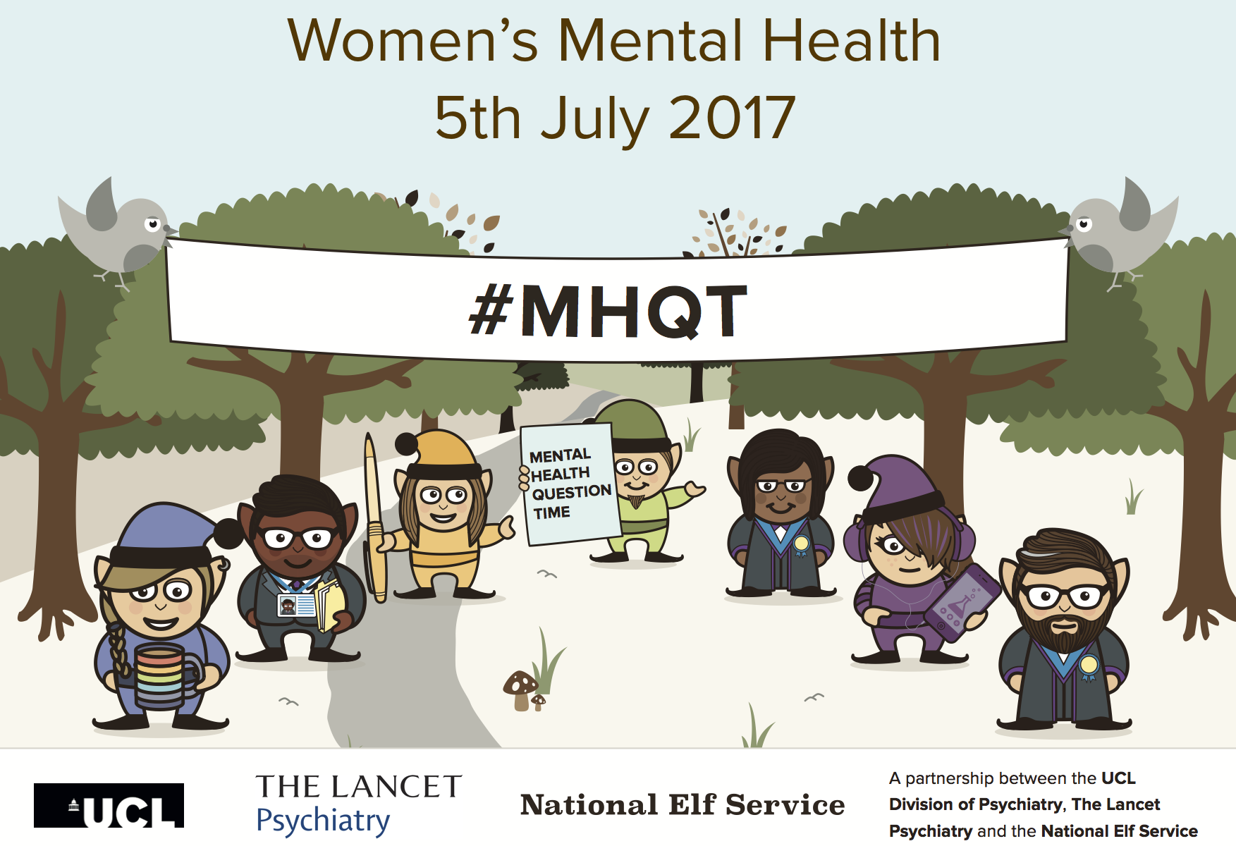#MHQT Women's Mental Health public discussion, London, Jul 2017