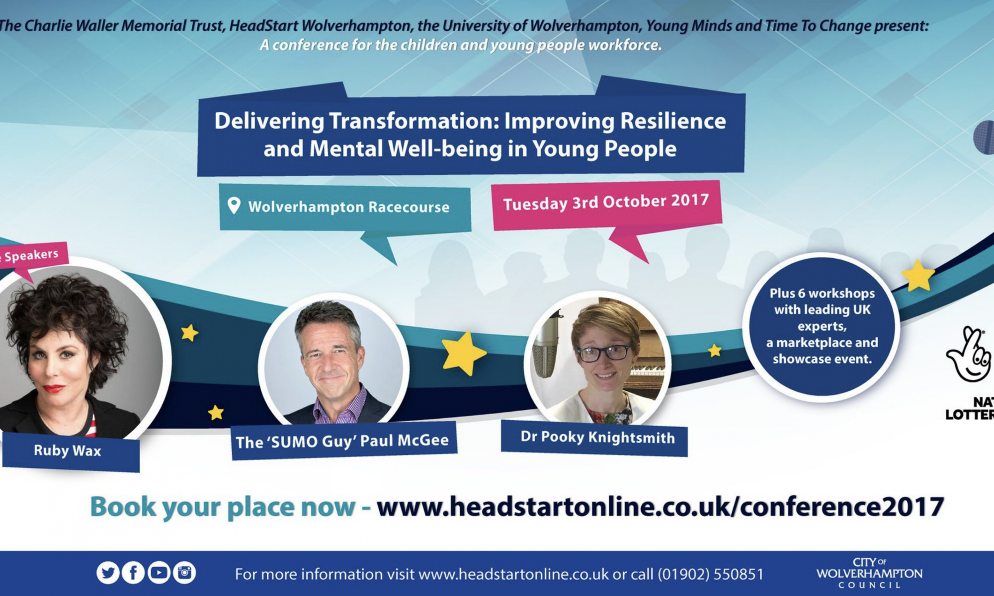 #hsconf17 Headstart Autumn Conference, Wolverhampton, Oct 2017
